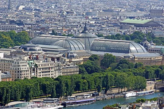 Grand Palais Paris, French historic site (Thousand Wonders)