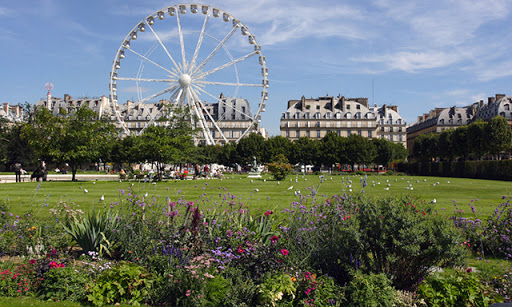 Jardin des Tuileries Paris, beautiful garden (Paris is Beautiful)