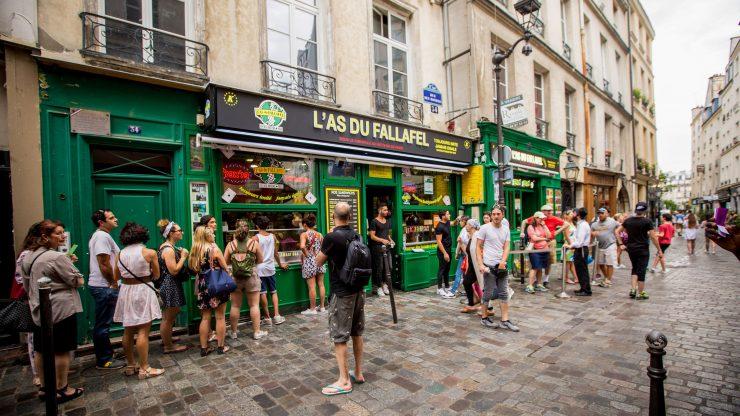 Le Marais Paris, the old city of France (Pinterest)