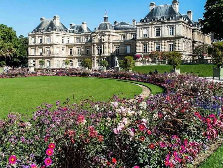 Luxembourg Garden Paris, King Henry IV Heritage Park (Afar)