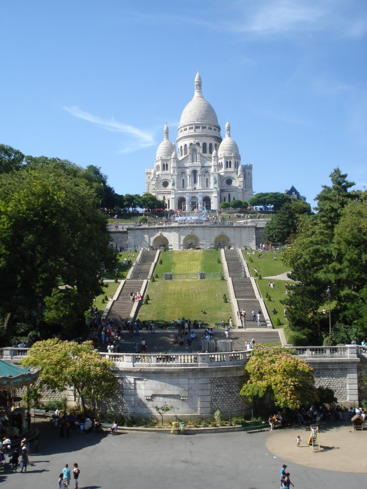 Montmartre Paris, beautiful area to see the whole city of Paris (Wikipedia)