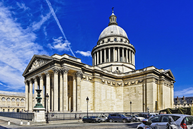 Pantheon Paris, historic French building (Origo)