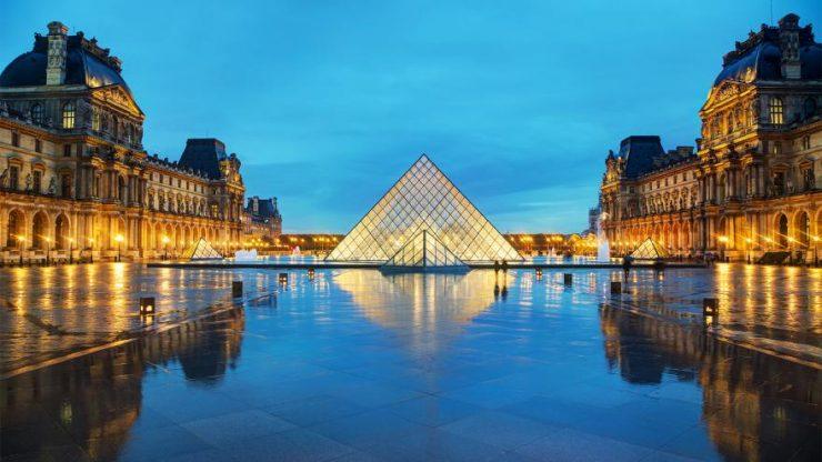 Paris famed Louvre Museum (CBS 58)