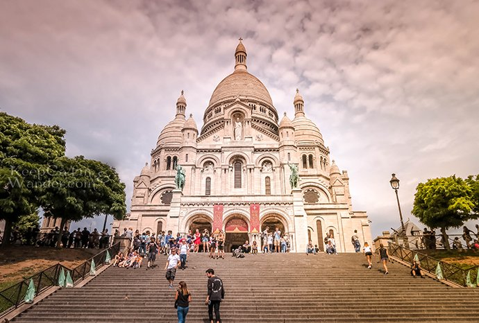 Sacred Heart Paris, exotic church on the hill (Keep Calm and Wander)