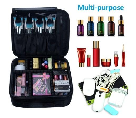 Black makeup bag bulk (Amazon.com)