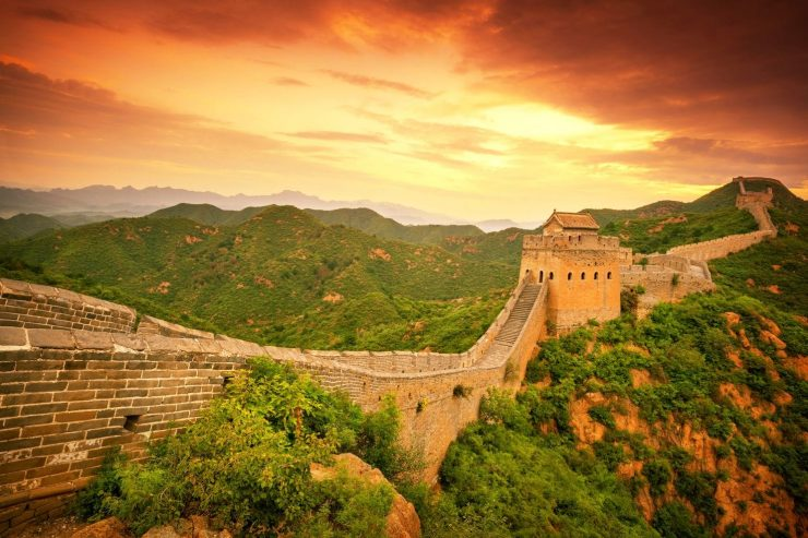 China's Great Wall is 'crumbling
