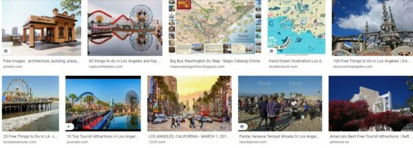 Los Angeles Tourist Attractions Free