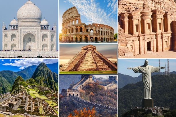 New Seven Wonders Of The World Pictures With Names