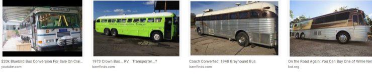 Tour Bus For Sale Craigslist - Crown Bus RV