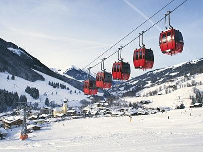 Winter at Alpen, Austria
