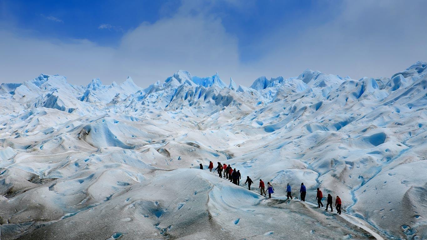 Winter at Los Glaciares National Park, Patagonia