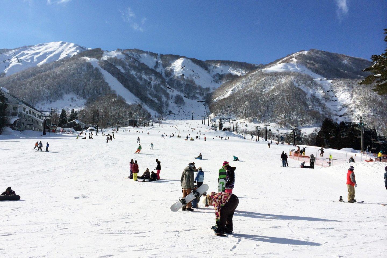 Winter at Nagano, Jepang