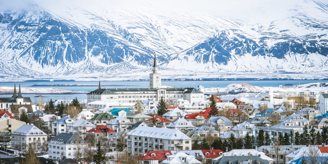 Winter at Reykjavík, Iceland