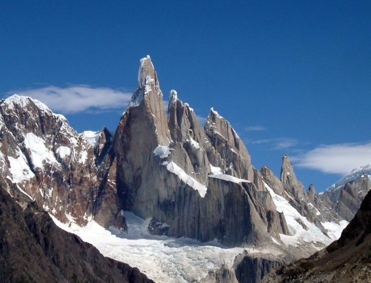 Cerro Torre Mountain, Patagonia, Argentina.