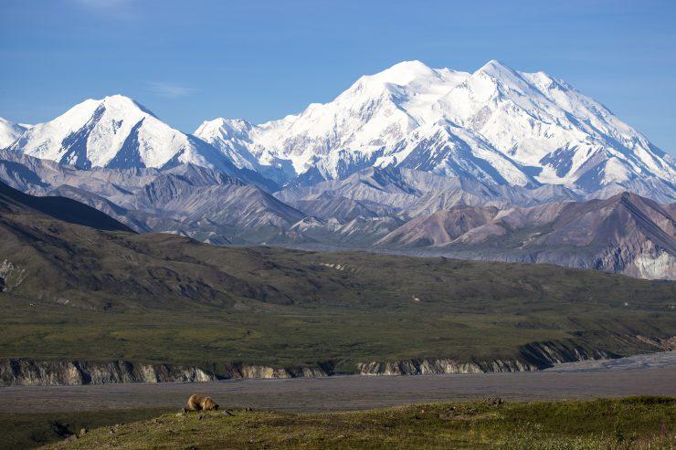 Denali Mountain, Alaska.