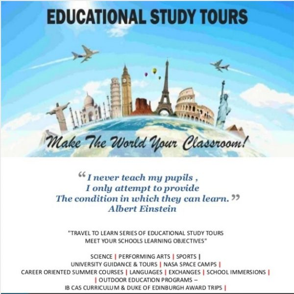 Letter To Principal For Educational Tour