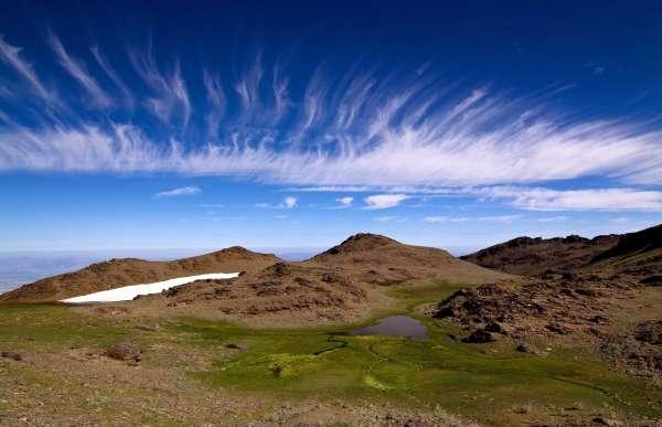 Sierra Nevada Mountain, Spain.