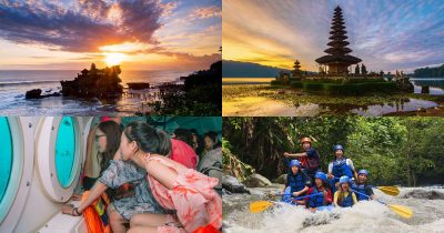 Tourist attractions in Bali Indonesia