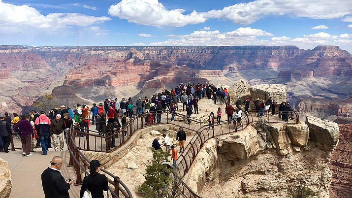 Trip organized in the Grand Canyon