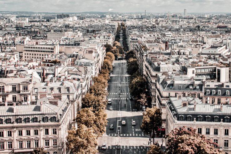 Architecture of the city of Paris