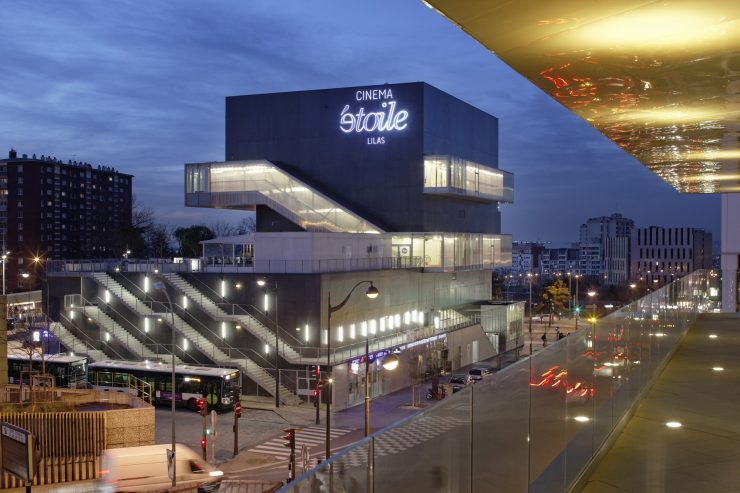 Cinema Building in Paris
