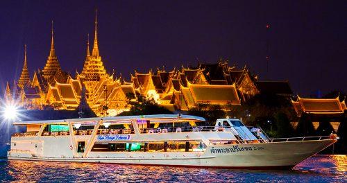 Dinner cruise in Bangkok (Sunburst Advemture)