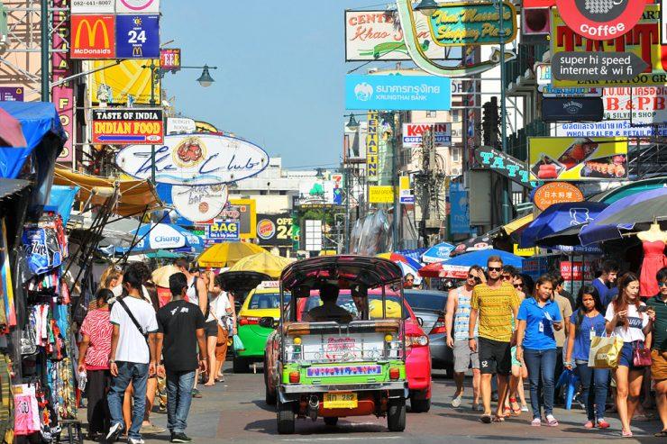 Khaosan Road Sightseeing Bangkok