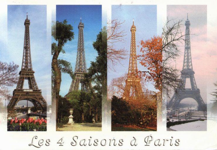 Les 4 seasons-in-Paris