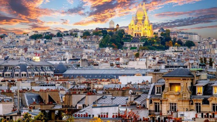 Montmartre of Paris