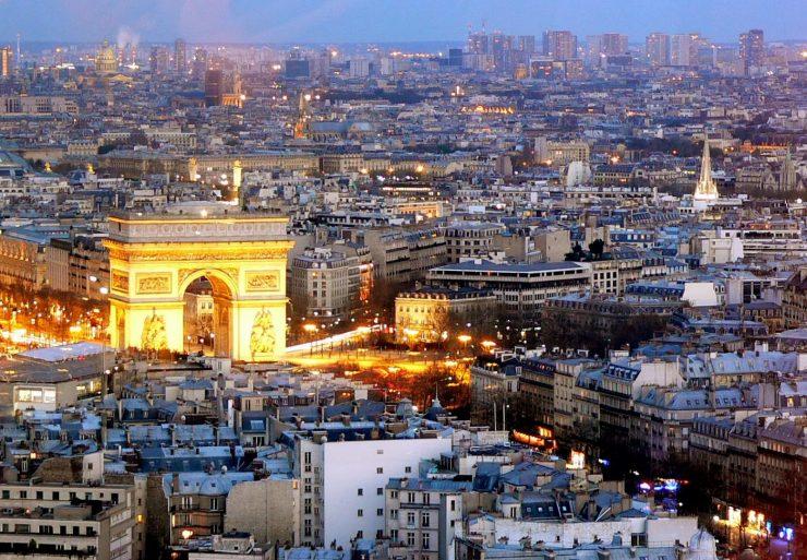 Monumental District and Historic Centre of Paris