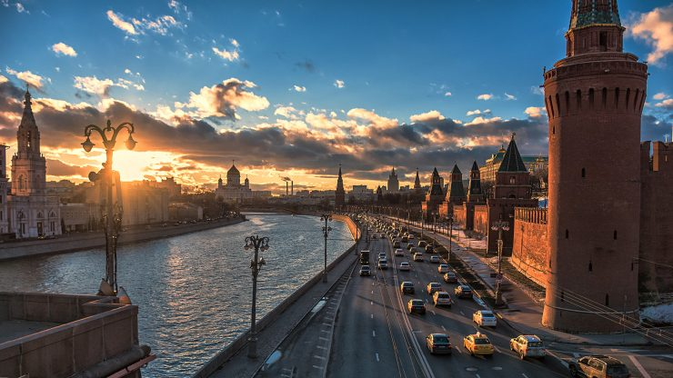 Moscow A Magnet For Tourism In Russia