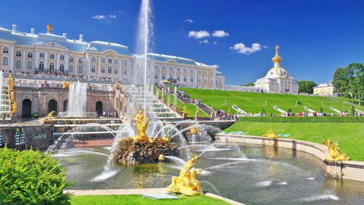 Peterhof Palace Tourism Russia