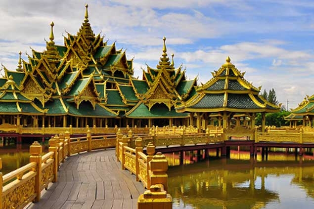 Siam Ancient City Tourist Places Bangkok (m.BangkokPost.com)