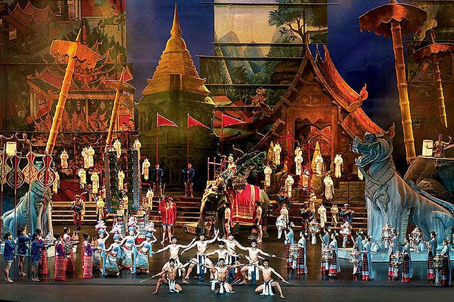 Siam Niramit See Bangkok's attractions (10Best.com)
