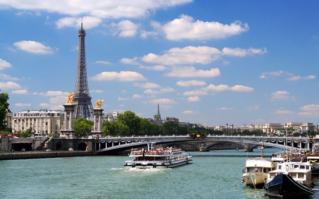 Siene River of Paris