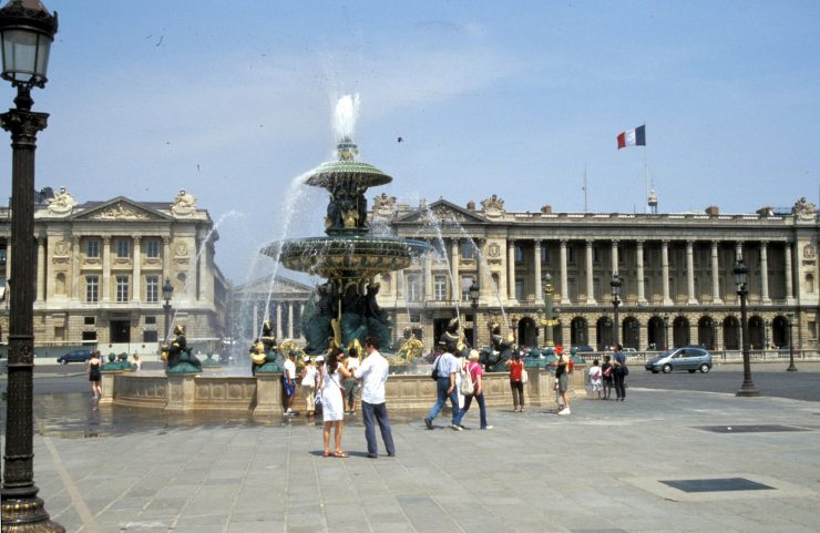 The Place de la Concorde Paris