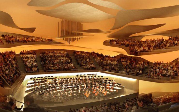 Theatre - concert hall in Paris