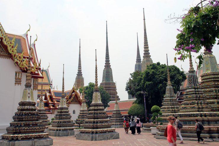 Tourism Wat Pho Bangkok