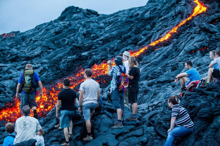 Tourism To Hawaii Volcano