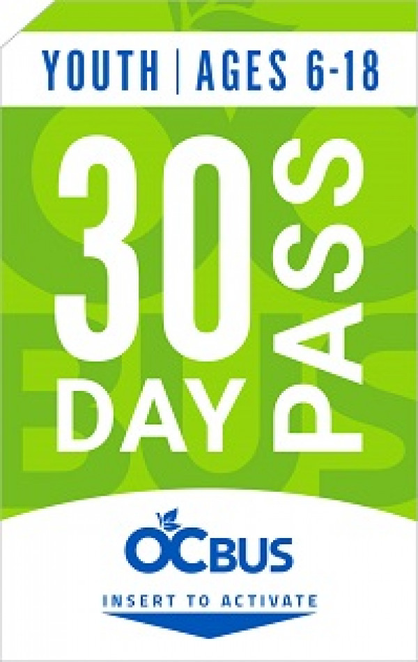30 Day Pass for adults
