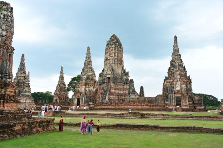 Ayutthaya Temple in Bangkok
