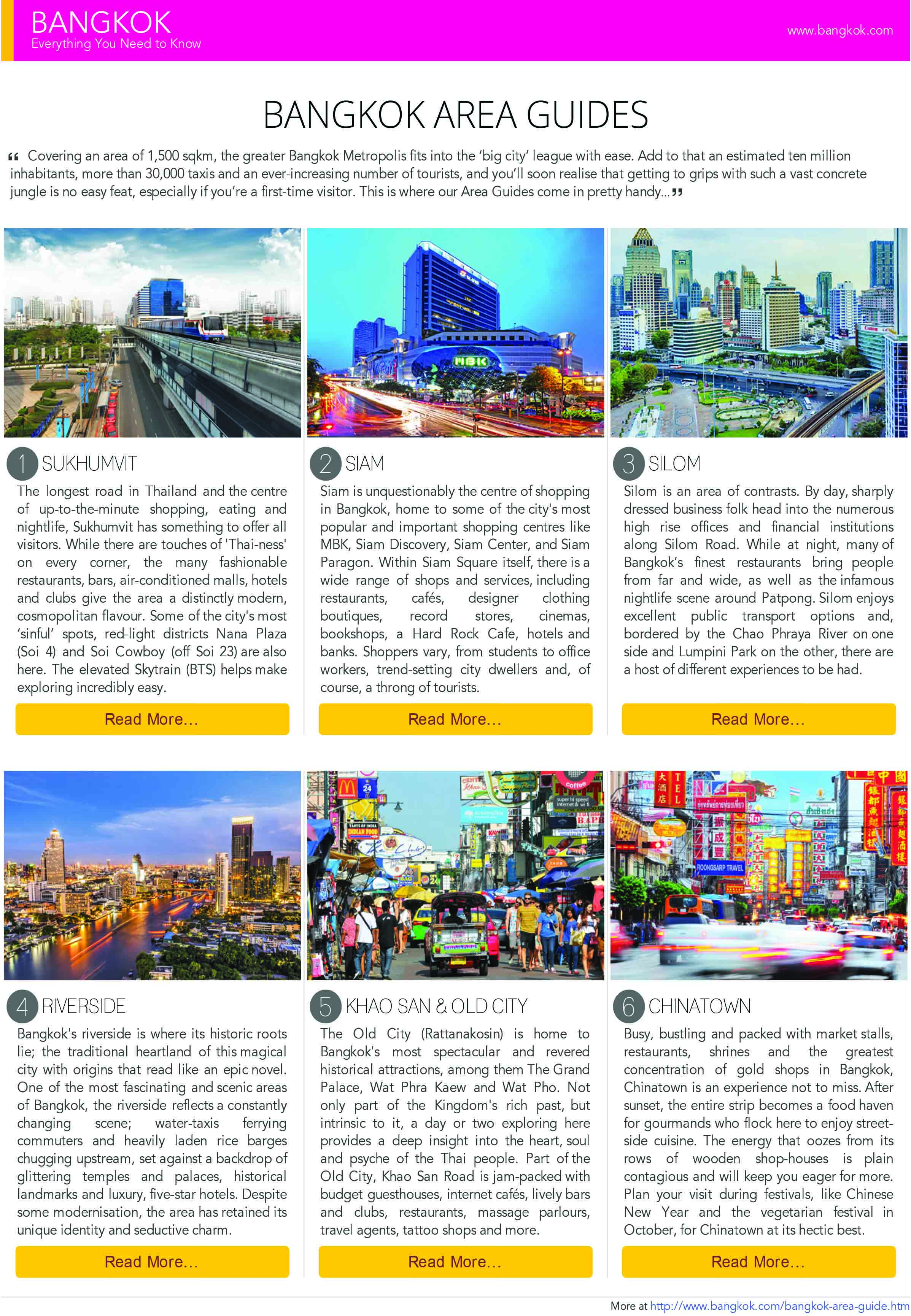 Bangkok Area Guides