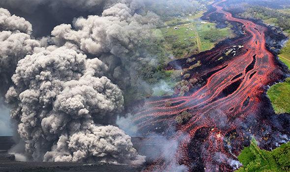 Hawaii Tourism Volcano Eruption