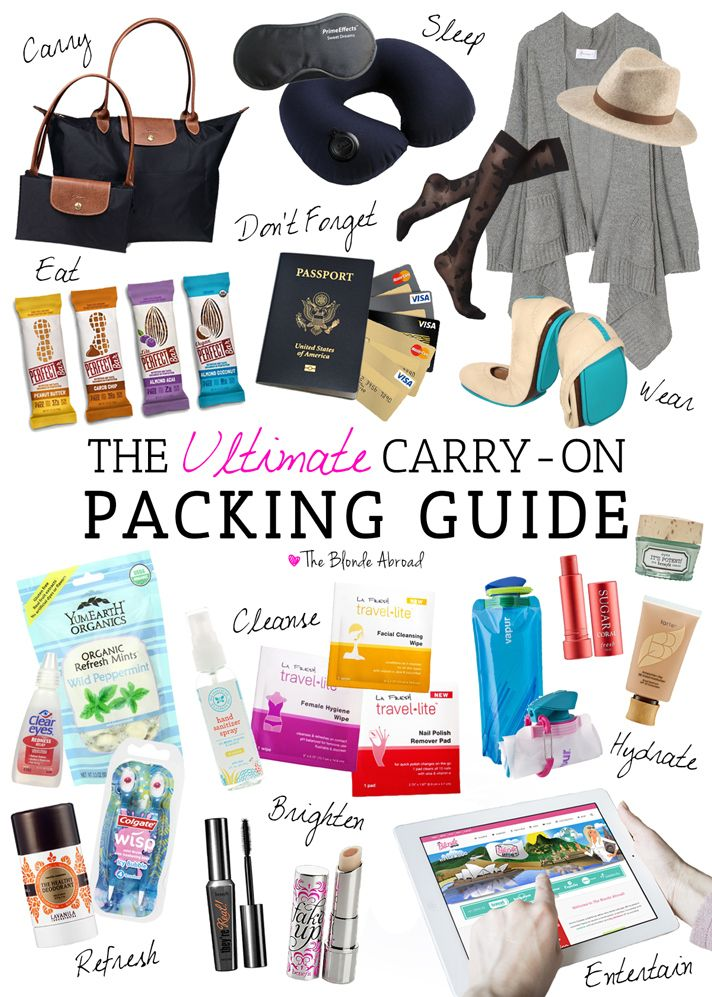 The Ultimate Carry-On Packing Guide