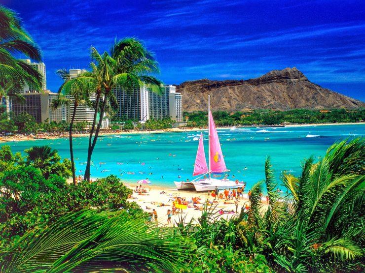 Tourist Hawaii Island