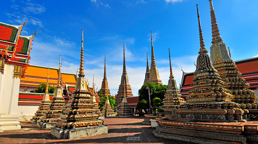 Wat Pho Temple in Bangkok