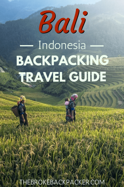9 Tips for a Holiday in Bali with Backpacker Way