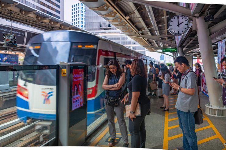 BTS Skytrain Bangkok Thailand (Flickr)