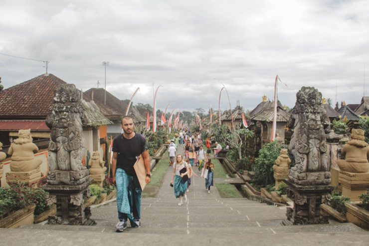 Blending in with the people of Bali