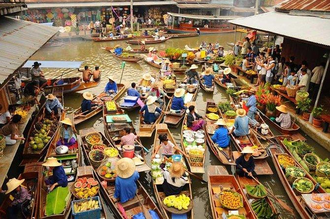 Damnoen Saduak Floating Market Bangkok Thailand (Viator.com)